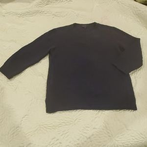 Cropped black theory sweater S/m